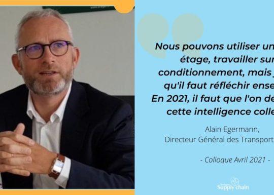 Alain Egermann, Directeur Général des Transports Bréger s'est exprimé sur les enjeux de la supply chain