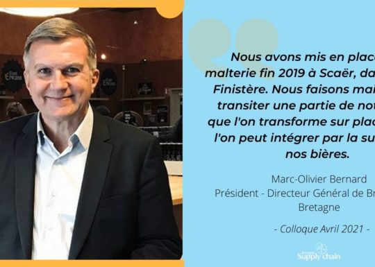 Marc Olivier Bernard des Brasseries de Bretagne