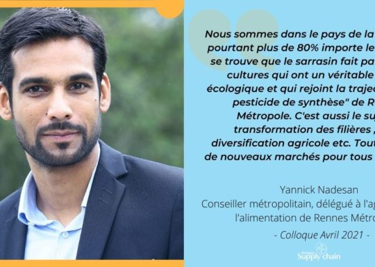 Yannick Nadesan, élu Rennes Métropole